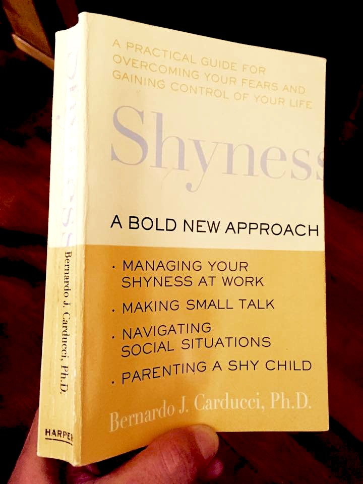 Shyness Bold New Approach Bernardo J Carducci